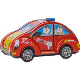 Gounaridis-DI Κουμπαράς αυτοκίνητο μεταλλικός με κλειδαριά σε 4 χρώματα (FS-010)