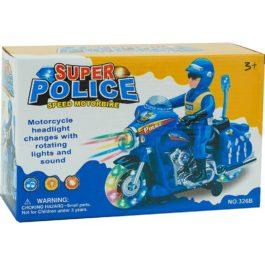 Gounaridis-DI Μότο αστυνομική με κίνηση, φώτα και ήχους (326B)