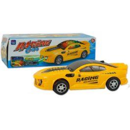 Gounaridis-DI Αυτοκίνητο κίτρινο με κίνηση, φώτα και μουσική (5066)