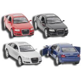 Goki Audi A6, Die-Cast Σε 4 Χρώματα (12138)