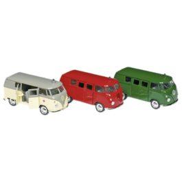 Goki Vw Classical Bus (1963) Σε 3 Χρώματα (12156)