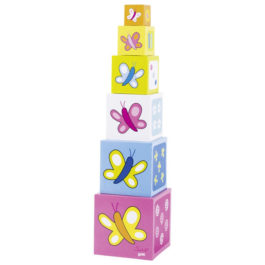 Goki Κύβοι Με Πεταλούδες (58508)