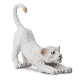CollectA Λευκό Λιονταράκι (τεντώνεται) (88550)