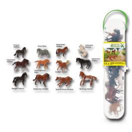 CollectA CollectA Κασετίνα με Μίνι Αλογα – 1 (A1109)