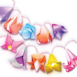 4M Κατασκευή Origami Φωτάκια Λουλούδια (4725/4M0497)