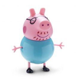Giochi Preziosi Peppa Pig Η Οικογένεια Της Πέππα, 4 Φιγούρες (PPC27000)