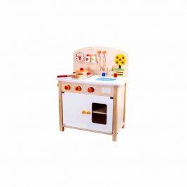 Tooky Toy Ξύλινη Κουζίνα με Αξεσουάρ (TKB815)