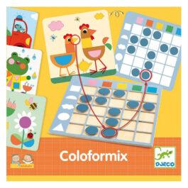 Djeco Colorformix Εκπαιδευτικό Παιχίδι Χρώματα Και Σχήματα (08351)