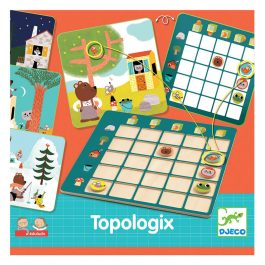 Djeco Topologix εκπαιδευτικό παιχνίδι Αντίληψη Χώρου (08354)