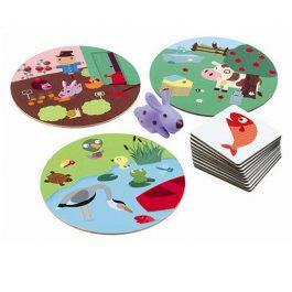 Djeco Επιτραπέζιο το περιβάλλον των ζώων (08553)