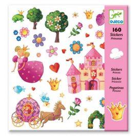 Djeco Σετ 160 στίκερ η πριγκίπισσα (08830)