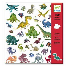 Djeco Σετ 160 στίκερ δεινοσαυροι (08843)