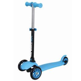 Fun Wheels Πατίνι Φωτιζόμενες ρόδες Mini με κάθισμα 3 σε 1 Μπλε (170407)
