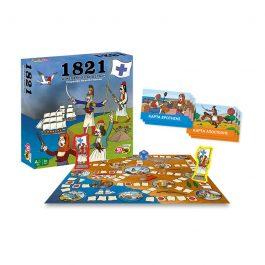 50/50 Games 1821 Η Μεγάλη Επανάσταση Επιτραπέζιο Παιχνίδι (505205)