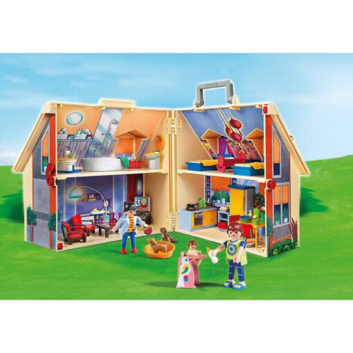 Playmobil Μοντέρνο Κουκλόσπιτο-βαλιτσάκι (5167)
