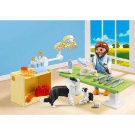 Playmobil Βαλιτσάκι Επίσκεψη στον κτηνίατρο (5653)