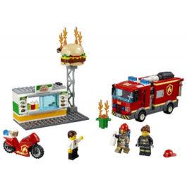 Lego City Διάσωση Από Την Πυρκαγιά Στο Μπέργκερ Μπαρ (60214)