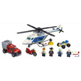 Lego City Καταδίωξη με Αστυνομικό Ελικόπτερο (60243)