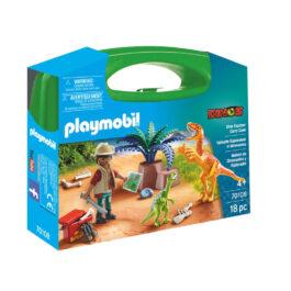 Playmobil Maxi Βαλιτσάκι Εξερευνητής και δεινόσαυροι (70108)