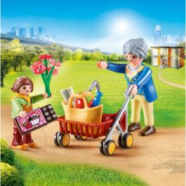 Playmobil Γιαγιά με εγγονή (70194)