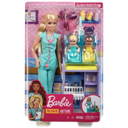 Mattel Barbie Παιδίατρος Σετ Παιχνιδιού (DHB63-GKH23)