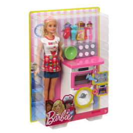 Mattel Barbie Ζαχαροπλάστης (FHP57)