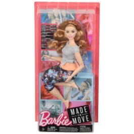Mattel Barbie Αμέτρητες Κινήσεις – Κούκλα Με Καμπύλες (FTG80-FTG84)