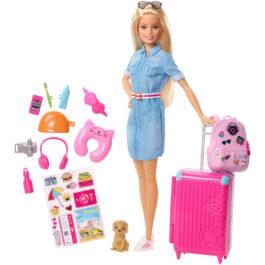 Mattel Barbie Dream House – Έτοιμη Για Ταξίδι (FWV25)