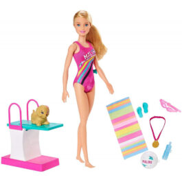 Mattel Barbie Dreamhouse Adventures Κολυμβήτρια (GHK23)