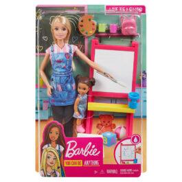 Mattel Barbie Δασκάλα Καλλιτεχνικών (GJM29)