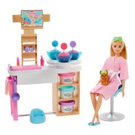 Mattel Barbie Wellness Face Spa Day – Ινστιτούτο Ομορφιάς (GJR84)