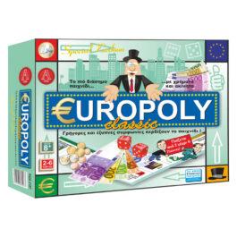 Argy Toys Επιτραπέζιο Europoli Classic Special Edition (0107)