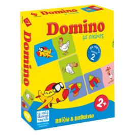 Argy Toys Επιτραπέζιο Πάζλ Ντόμινο Με Εικόνες (0208)