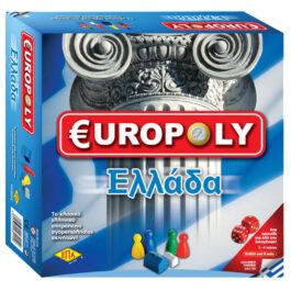 ΕΠΑ Επιτραπέζιο EUROPOLY ΕΛΛΑΔΑ (03-215)