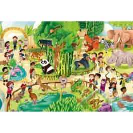 Clementoni Παζλ 24 Τεμάχια Maxi Ζωολογικός Κήπος (1200-28505)