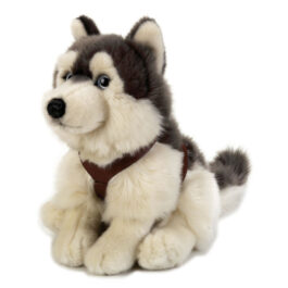 Lelly Λούτρινο Σκύλος Lapo Husky Seduto 25εκ (742172)