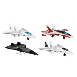 Mattel Matchbox Top Gun 4 Αεροπλανάκια (GPF72)