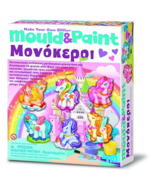 4M Κατακευή Μονόκεροι Μαγνητάκια - Καρφίτσα (4708/4M0503)