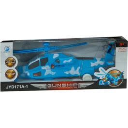 Gounaridis-DI Ελικόπτερο Με Κίνηση, Φώτα Και Ήχους Σε 2 Χρώματα  (JYD171A-1)