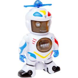 Gounaridis-DI Ρομπότ Που Χορεύει Και Περιστρέφεται 360 Μοίρες Με Φώτα Και Μουσική (FX2866)
