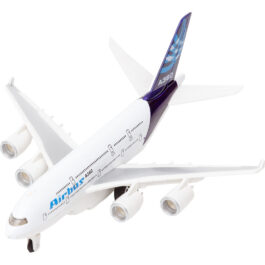 Gounaridis-DI Αεροπλάνο Μεταλλικό Με Φώτα Και Ήχους Σε 3 Σχέδια (A380)