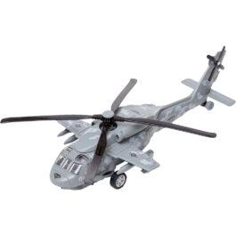 Gounaridis-DI Πολεμικό Ελικόπτερο Μεταλλικό Με Φώτα Και Ήχους Σε 3 Χρώματα  (9809A)