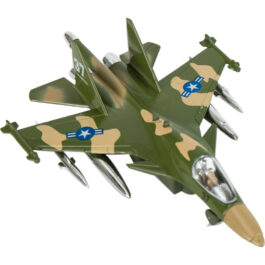 Gounaridis-DI Αεροπλάνο Πολεμικό Μεταλλικό Με Φώτα Και Ήχους  Σε 2 Χρώματα (FS10308)
