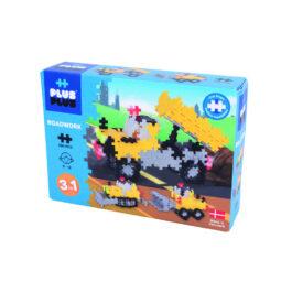 Plus Plus Τουβλάκια Σε Κουτί 220 Τεμάχια Εργασίες Στο Δρόμο 3 Σε 1 (PLS03768)