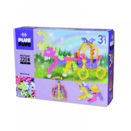 Plus Plus Τουβλάκια Σε Κουτί Pastel 220 Τεμάχια Παραμύθι 3 Σε 1 (PLS03769)