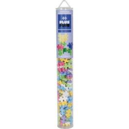Plus Plus Τουβλάκια Σε Σωλήνα Pastel Mix 100 Τεμάχια (PLS04025)
