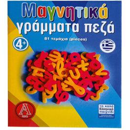 Argy Toys Επιτραπέζιο Μαγνητικά Γράμματα Πεζά 81 τεμάχια (0402)