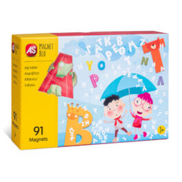 AS Magnet Box Εκπαιδευτικό Παιχνίδι Αλφαβήτα (1029-64033)