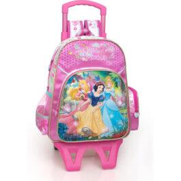 J.M.Inacio Τσάντα Με Πριγκίπiσσες Disney Και Τρόλεϋ (10610C)