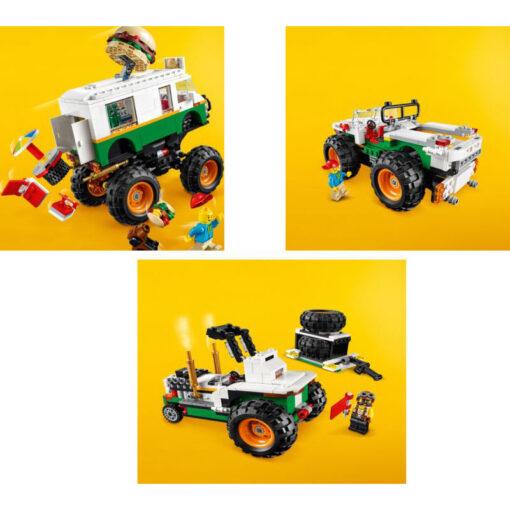 Lego Creator Monster Truck με Χάμπουργκερ (31104)